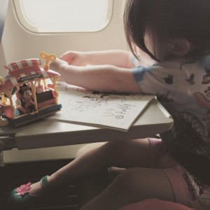 mia airplane ride