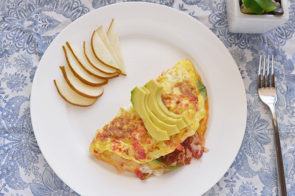 Simple Breakfast Ideas – Quick Veggie Omlette