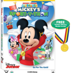 Mickey Mouse Clubhouse Sport-Y-Thon on DVD – Includes Real Golden Mickey Medal