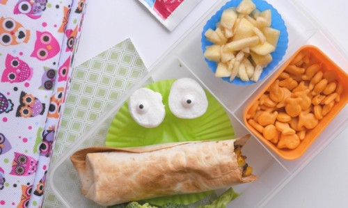 Kids Lunch Back To School Ideas Goldfish Wet Ones Veggie Face