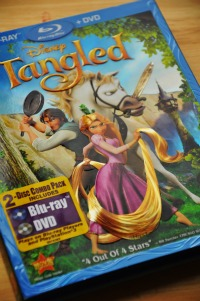 tangled dvd bluray