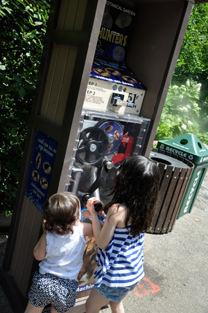 We always have to get a souvenir penny everywhere. The Cincinnati Zoo & Botanical Garden