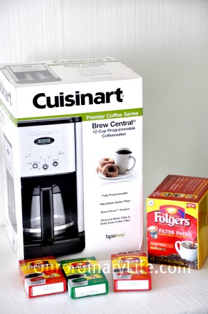 New Folgers Coffee – Cuisinart Central Coffeemaker Giveaway