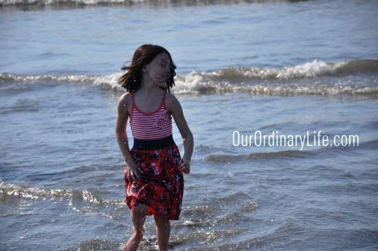 Getting Out To Play & Playing at The Beach with My Kids