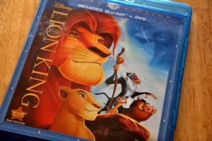 The Lion King Two-Disc Diamond Edition Blu-ray / DVD Combo