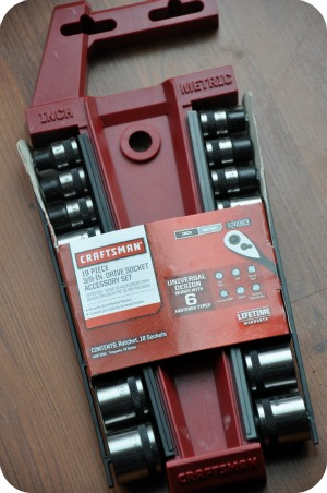 Holiday Gift Guide: Gifts For Him – Craftsman 19 Piece 3/8 inch Drive Socket Accessory Set
