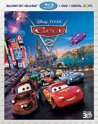 Cars 2 Now On Blu-ray!
