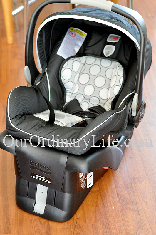 Buying For Baby: The Safe & Comfortable Britax B-Safe Car Seat