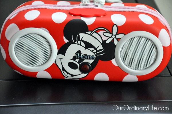 minnie tunes speaker travel