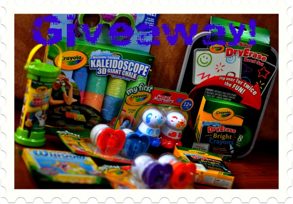 Easter Basket Gift Ideas: Inside The Box From Crayola {Giveaway}
