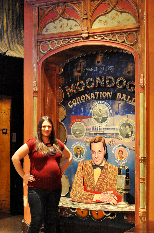 House of Blues Cleveland Lobby displays classic