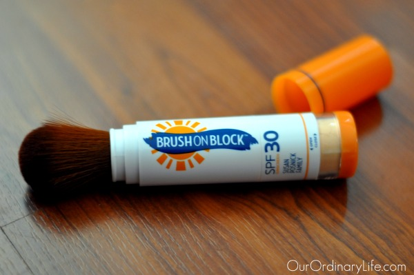 Mineral Sunblock – NEW! Brush On Block