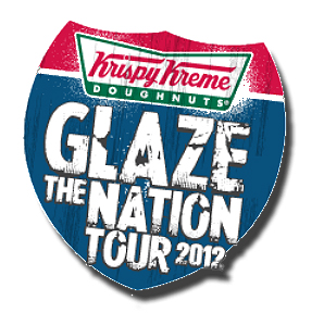 Krispy Kreme Glaze The Nation Tour
