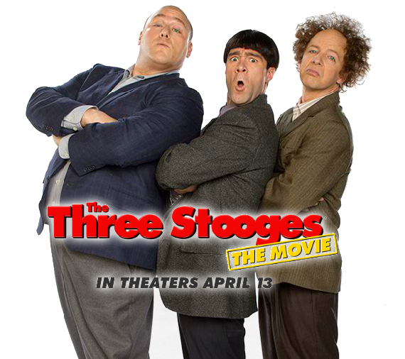 The Three Stooges - Curly, Moe & Larry