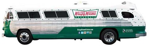 Krispy Kreme Glaze The Nation Flxible Cruiser