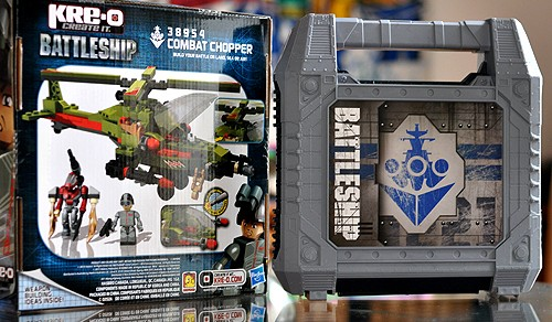 Classic Battleship Movie Edition & Kreo Battleship Chopper Set