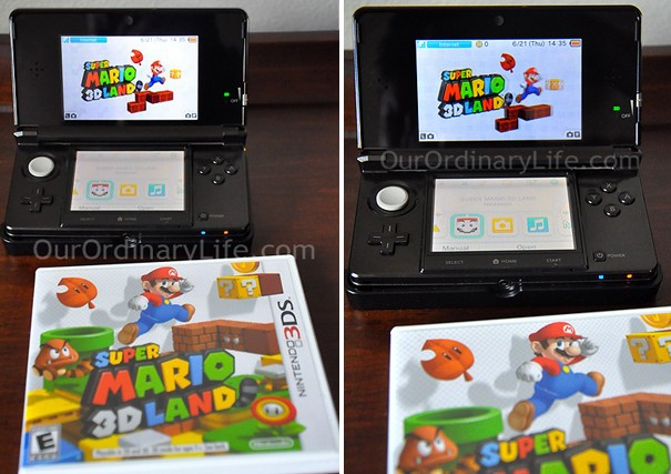 Nintendo 3D Off & 3D On