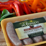 Our Dinner Party With al fresco All Natural Chicken Sausage