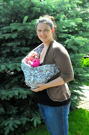 mia hot slings babywearing