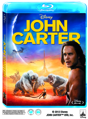 Disney John Carter Blu Ray DVD