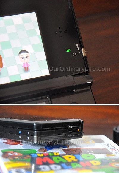 Nintendo 3DS 3D Depth Adjuster and Wifi Switch