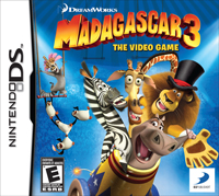 Madagascar 3 the video game Nintendo DS Game