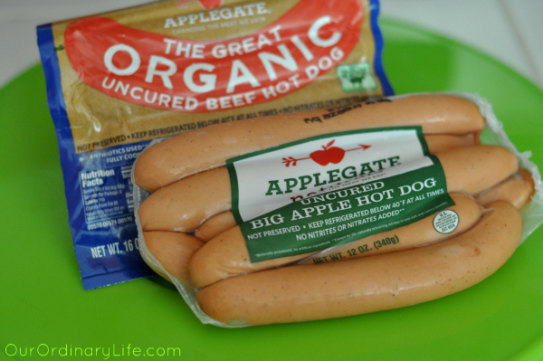applegate uncured big apple hot dog