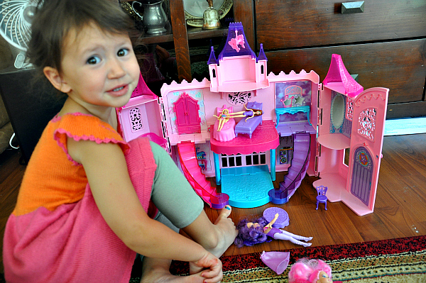brroklin with Barbie The Princess and The Popstar Party toy