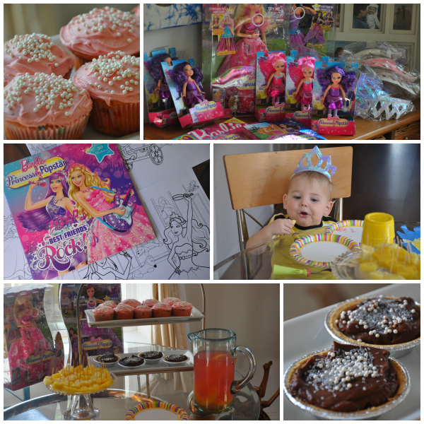 Barbie Popstar Party desserts and party ideas