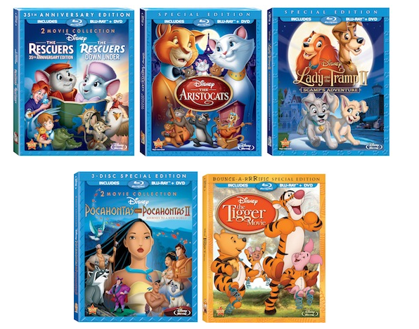 5 Enchanted Disney Movies Now Back on Blu-ray
