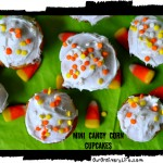 Cooking With Kaila – Mini Candy Corn Cupcakes