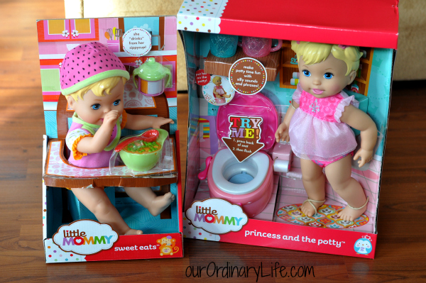 Hot For The Holidays:  Little Mommy Dolls – Giveaway