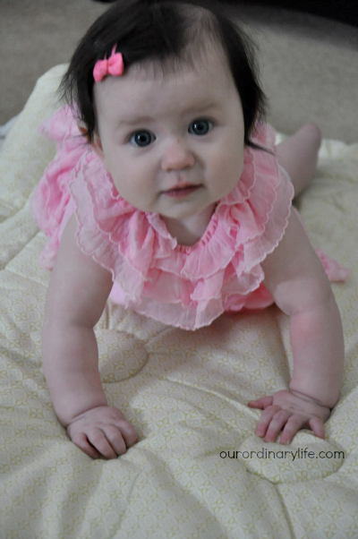 Baby's First Year – Mia 6 Months Old