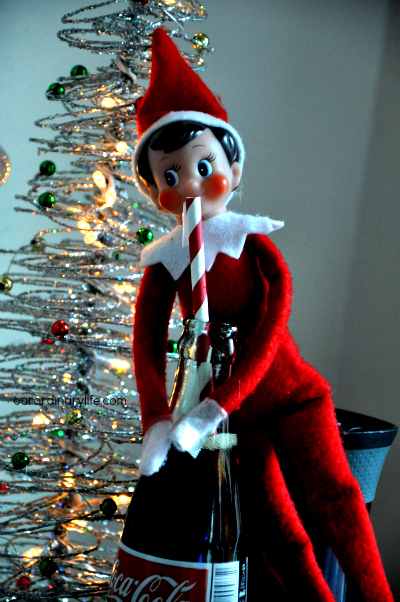 Elfing Around – Some #ElfOnTheShelf Fun