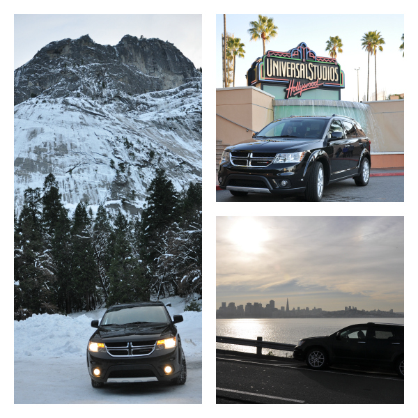 2013 Dodge Journey Crew Exterior Profile Outside yosemite universal studios san francisco