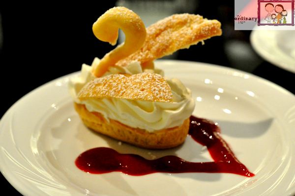 Cream Puff Swans Recipe