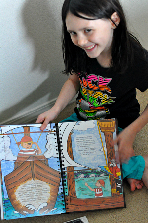 kaila pirate book