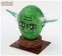 Decorate your Easter Eggs LEGO®STAR WARS® Style!