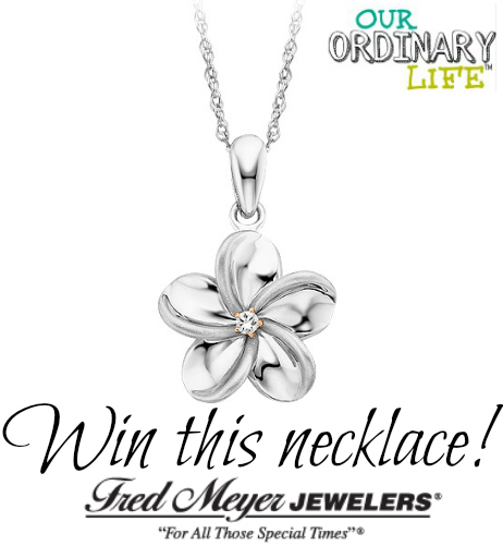 Fred Meyer Jewelers Makes it Easy to Celebrate Mom – Diamond Necklace Giveaway