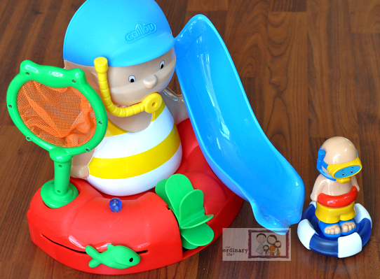 Caillou Bathtime with You Activity Set – Giveaway