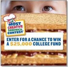 Jif Most Creative Sandwich Contest