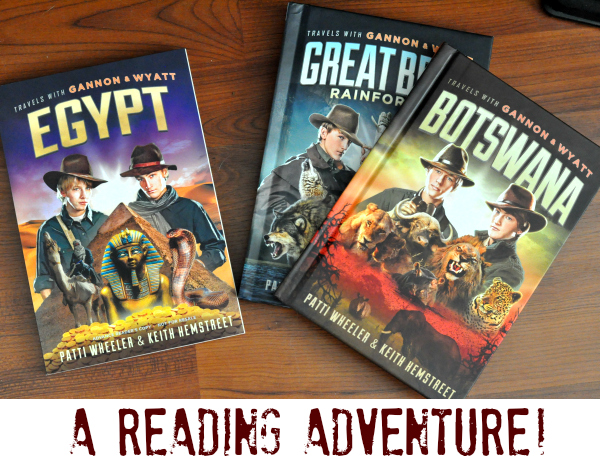 Childhood Reading: Travels with Gannon and Wyatt Series #GannonWyatt