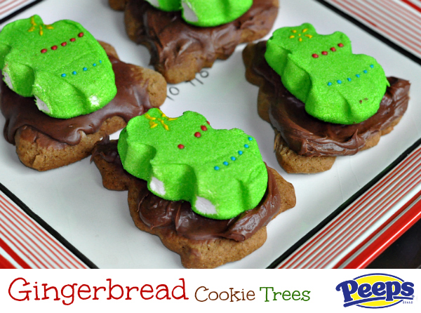 PEEPS® christmas tree cookies