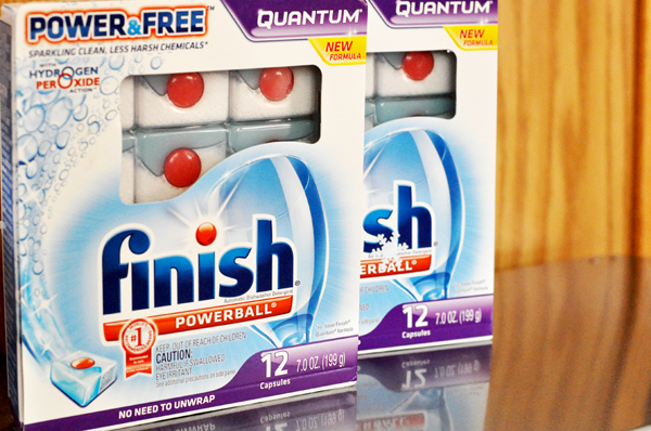 Finish quantum Dishwashing capsules