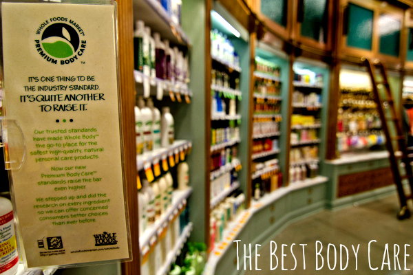 body care whole foods market