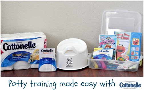 potty training toddler cottonelle (2)