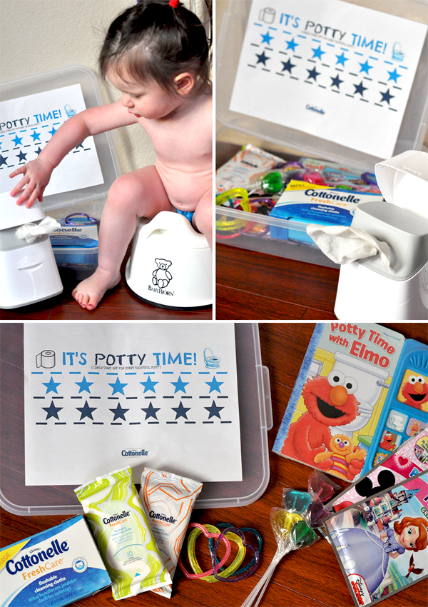 potty training toddler cottonelle (3)
