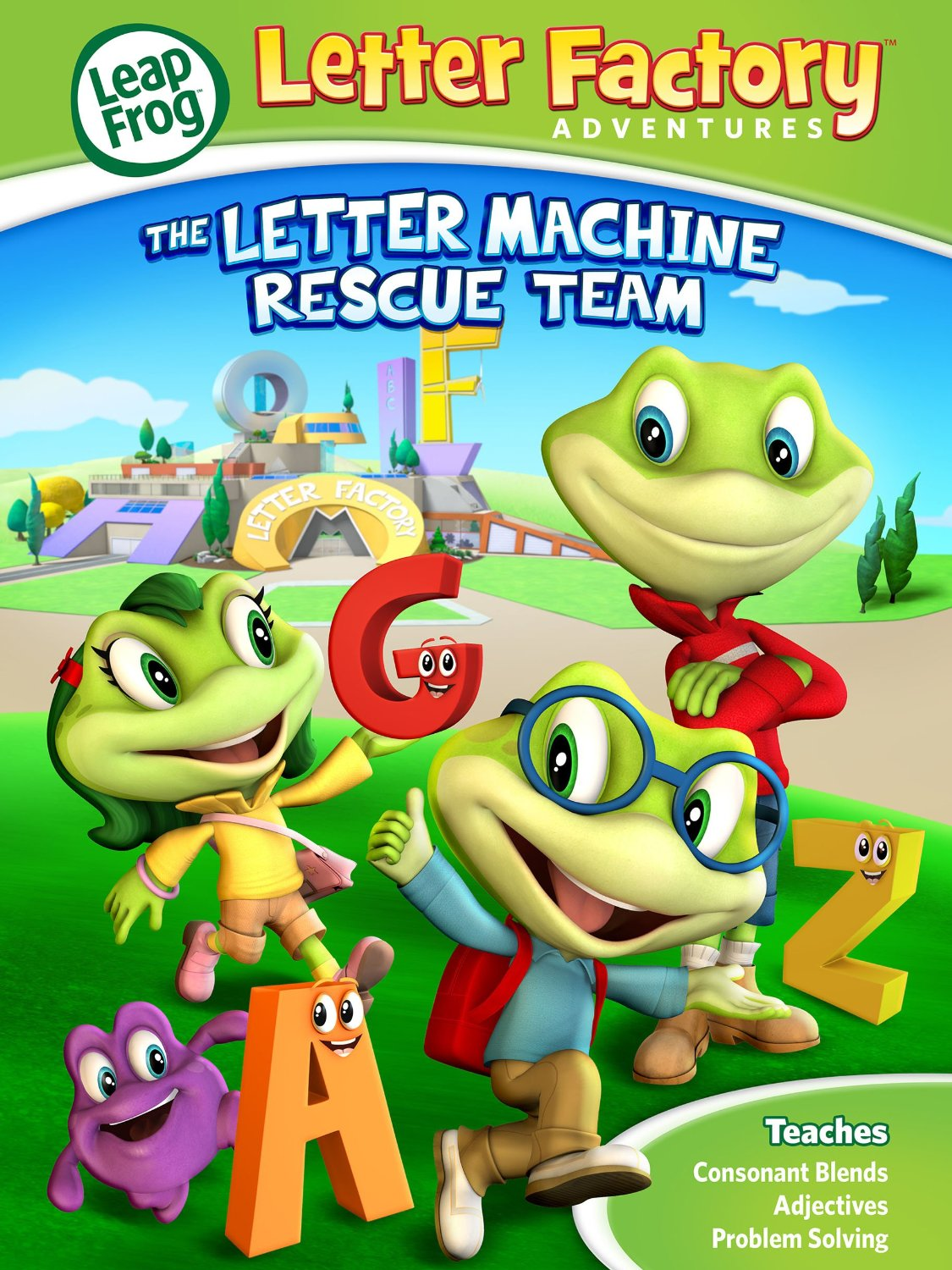 leapfrog letter factory adventures the letter machine rescue team