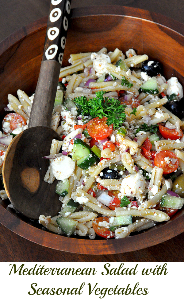 Greek Mediterranean Corn Oil Salad with vegetables