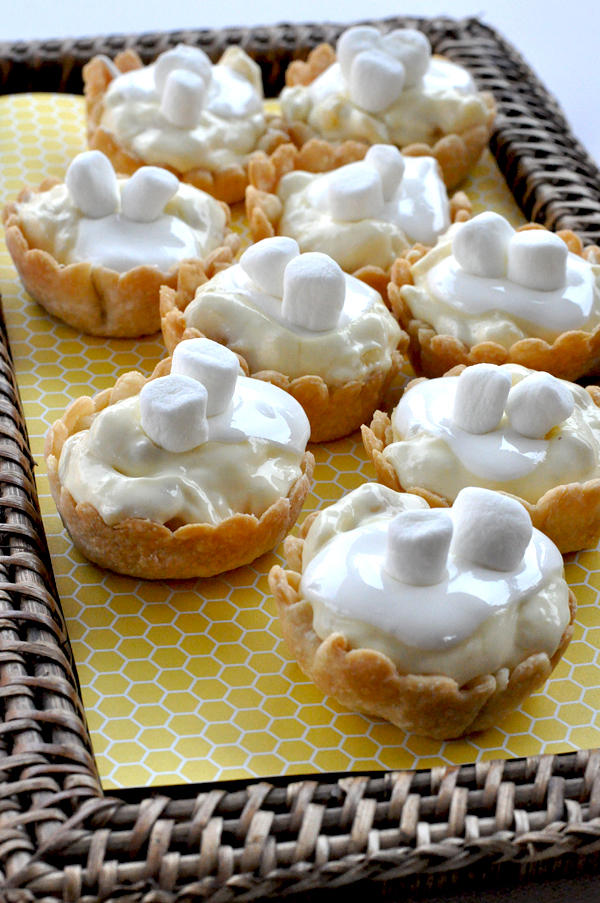 Kraft Banana Cream Pie Tarts With Mini Marshmallow Topping (6)